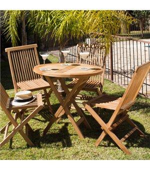 Tisch-Set mit 4 Stühlen...