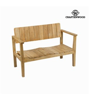 Bank mit Rückenlehne Craftenwood (110 x 60 x 80 cm) - Pure Life Kollektion