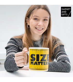 Gadget and Gifts Size Matters XXL Tasse