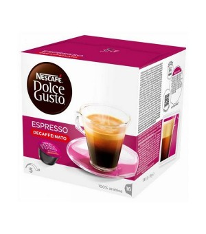Kaffeekapseln Nescafé Dolce Gusto 60658 Espresso Decaffeinato (16 uds)