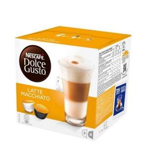 Kaffeekapseln Nescafé Dolce Gusto 98386 Latte Macchiato (16 uds)