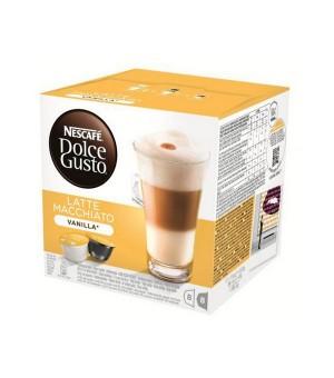 Kaffeekapseln Nescafé Dolce Gusto 70676 Latte Macchiato (16 uds) Vanille