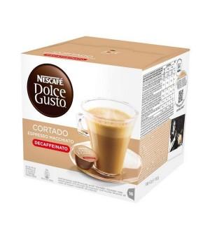Kaffeekapseln Nescafé Dolce Gusto 94314 Espresso Macchiato Decaffeinato (16 uds)