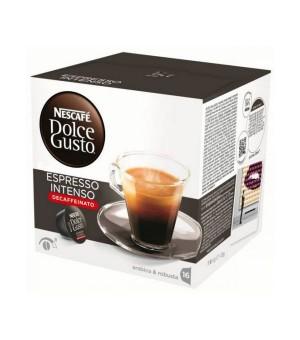 Kaffeekapseln Nescafé Dolce Gusto 60924 Espresso Intenso Decaffeinato (16 uds)
