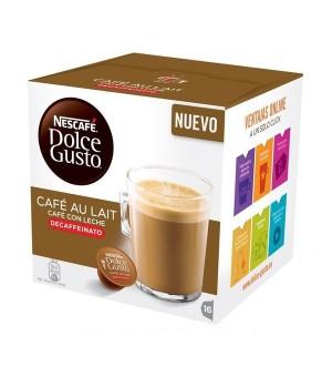 Kaffeekapseln Nescafé Dolce Gusto 97934 Café Au Lait (16 uds) Entkoffeiniert