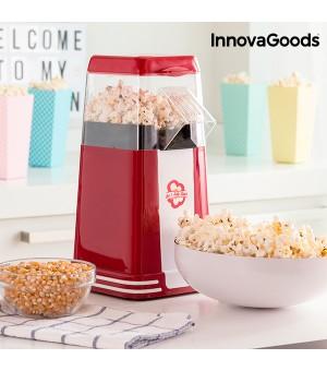 InnovaGoods Hot & Salty Times Heißluft Popcornmaschine 1200 W  Rot