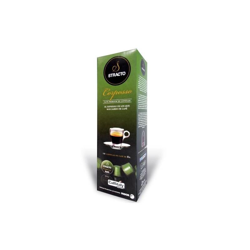 Kaffeekapseln Stracto 80583 Corposso (80 uds)