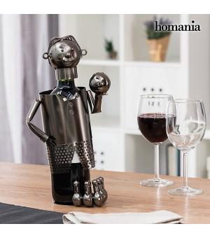 Homania Bowlingspieler Flaschenständer aus Metall