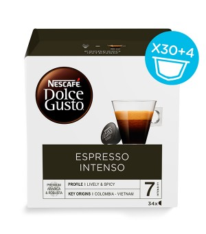 Kaffeekapseln Nescafé Dolce Gusto (34 uds) Espresso intenso
