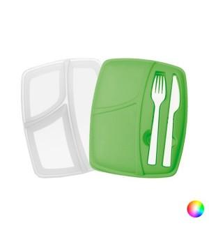 Lunchbox mit Besteckteil (800 ml) 144293