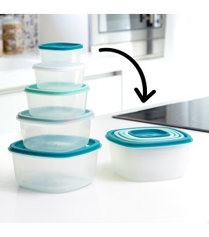 Lunchbox-Set Scale 5 Stücke