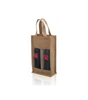 Doppelbeutel für Weinflaschen (75 cl) 143481