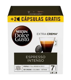 Kaffeekapseln Nescafé Dolce Gusto Espresso intenso (18 Uds)
