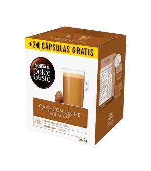 Kaffeekapseln Nescafé Dolce Gusto Cafe au lait (18 Uds)