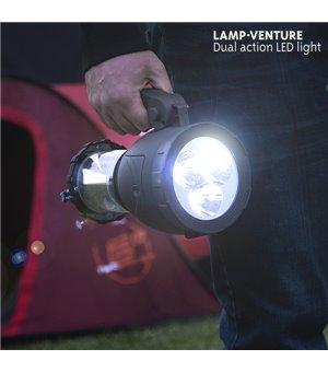 Lamp Venture Campinglicht mit Taschenlampe