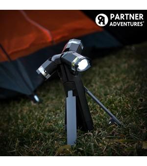 Total Torch 3 in 1 LED Taschenlampe mit Stützbock