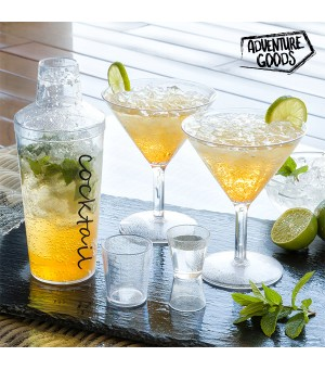 Camping Adventure Goods Cocktail Set (4 Teile)