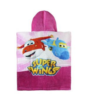 Super Wings rosafarbenes...