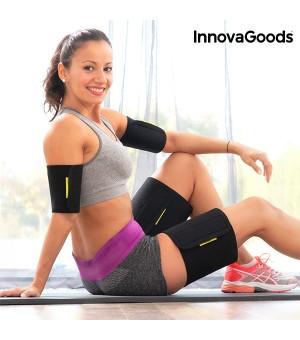 InnovaGoods Schweißbänder mit Saunaeffekt für Arme und Beine (4er Pack)
