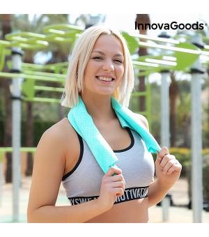 InnovaGoods Sporthandtuch mit Sofortkühlung und Eiseffekt