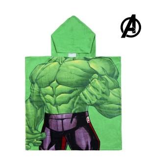 Frottéhandtuch mit Kapuze Hulk The Avengers 74157