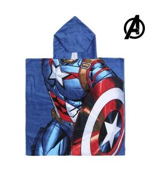 Frottéhandtuch mit Kapuze Captain America The Avengers 74171