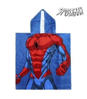 Frottéhandtuch mit Kapuze Spiderman 74188