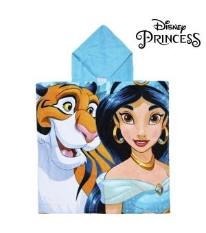 Frottéhandtuch mit Kapuze Jasmin Princesses Disney 74201