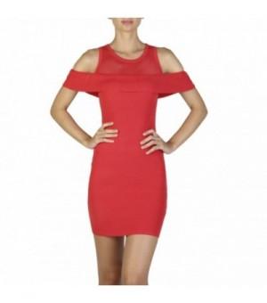 Guess Damen Kleider Rot -...