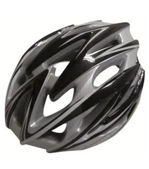 Fahrradhelm für Erwachsene Atipick Grau (Größe l)