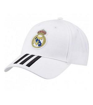 Sportkappe Adidas Real Madrid 3 Stripes Weiß