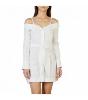 Pinko Damen Kleider Weiß -...