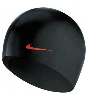 Bademütze Nike 93060-001 Schwarz (Einheitsgröße)