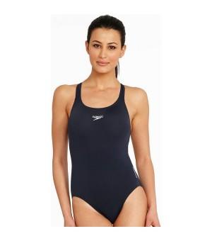 Damen Badeanzug Speedo Essential Endurance Medalist Navy (Größe 34)