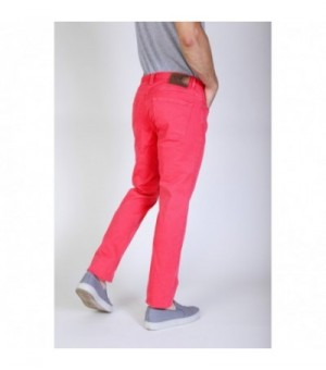 Jaggy Herren Jeans Rot -...