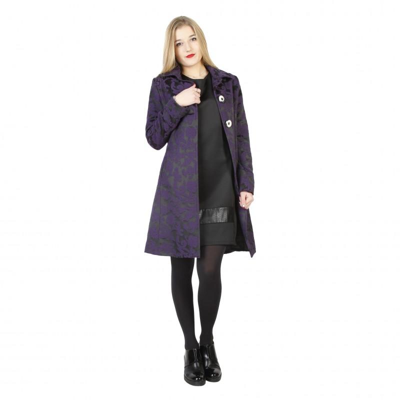 Fontana 2.0 Damen Mantel Violett - ESMERALDA