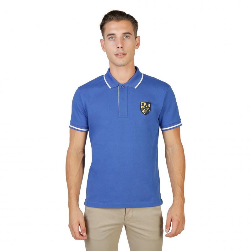 Oxford University Herren Polo Blau - TRINITY-POLO-MM