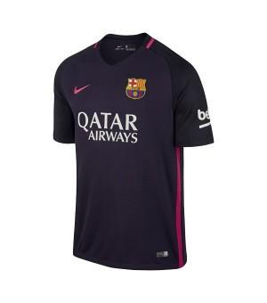 Kurzärmiges Fußball T-Shirt für Männer Nike FC Barcelona Lila (2ª) (Größe xl - us)