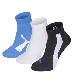 Sportsocken Puma LIFESTYLE (3 Paar) Blau Weiß Dunkelblau