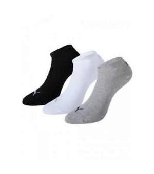 Sport-Knöchelsocken Puma SNEAKER (3 Paar) Grau Weiß Schwarz