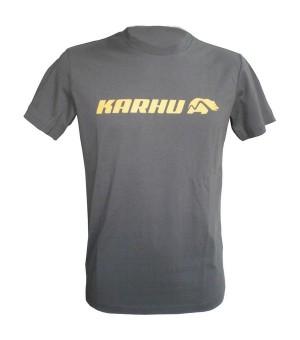 Herren Kurzarm-T-Shirt Karhu T-PROMO 2 Grau (Größe s)