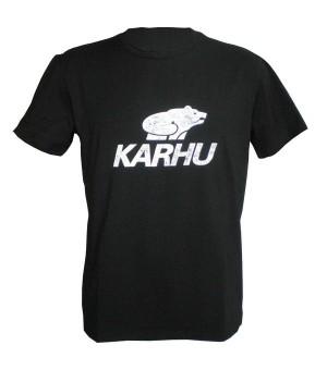 Herren Kurzarm-T-Shirt Karhu T-PROMO 1 Schwarz (Größe s)