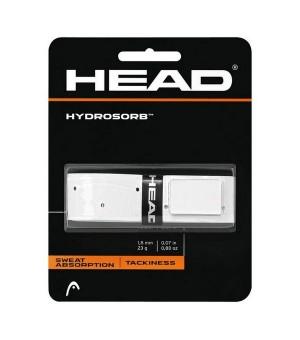Tennis Basisgriffband Head Hydrosorb 1,8 mm Elastomer Weiß