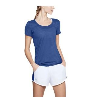Damen Kurzarm-T-Shirt Under Armour 1271517-574 Blau
