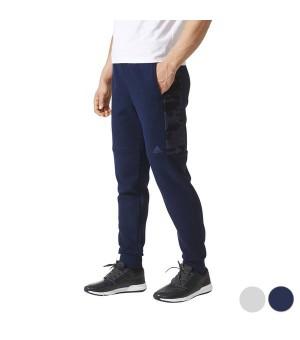 Trainingshose für Erwachsene Adidas Ess Cmo T Pn Fl Marineblau