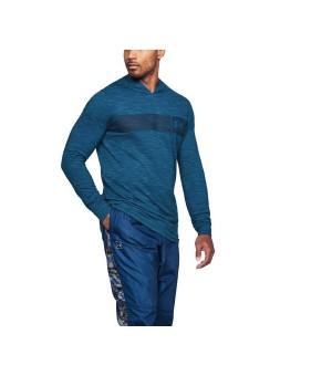 Herren Sweater mit Kapuze Under Armour 1306490-487 Blau