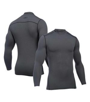 Langarm-Kompressionsshirt für Herren Under Armour 1265648-090 Grau