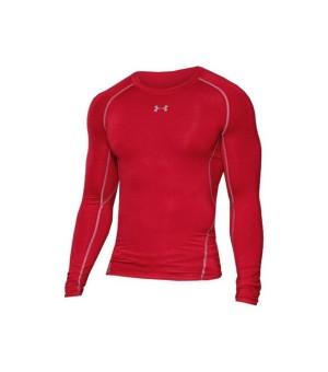 Langarm-Kompressionsshirt für Herren Under Armour 1257471-600 Rot