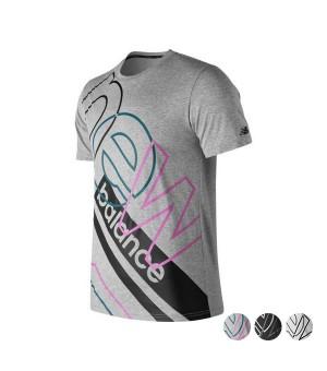 Herren Kurzarm-T-Shirt New Balance Modern Ht