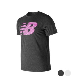 Herren Kurzarm-T-Shirt New Balance NB Fill